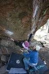 Andrea Maruna in a painful prow